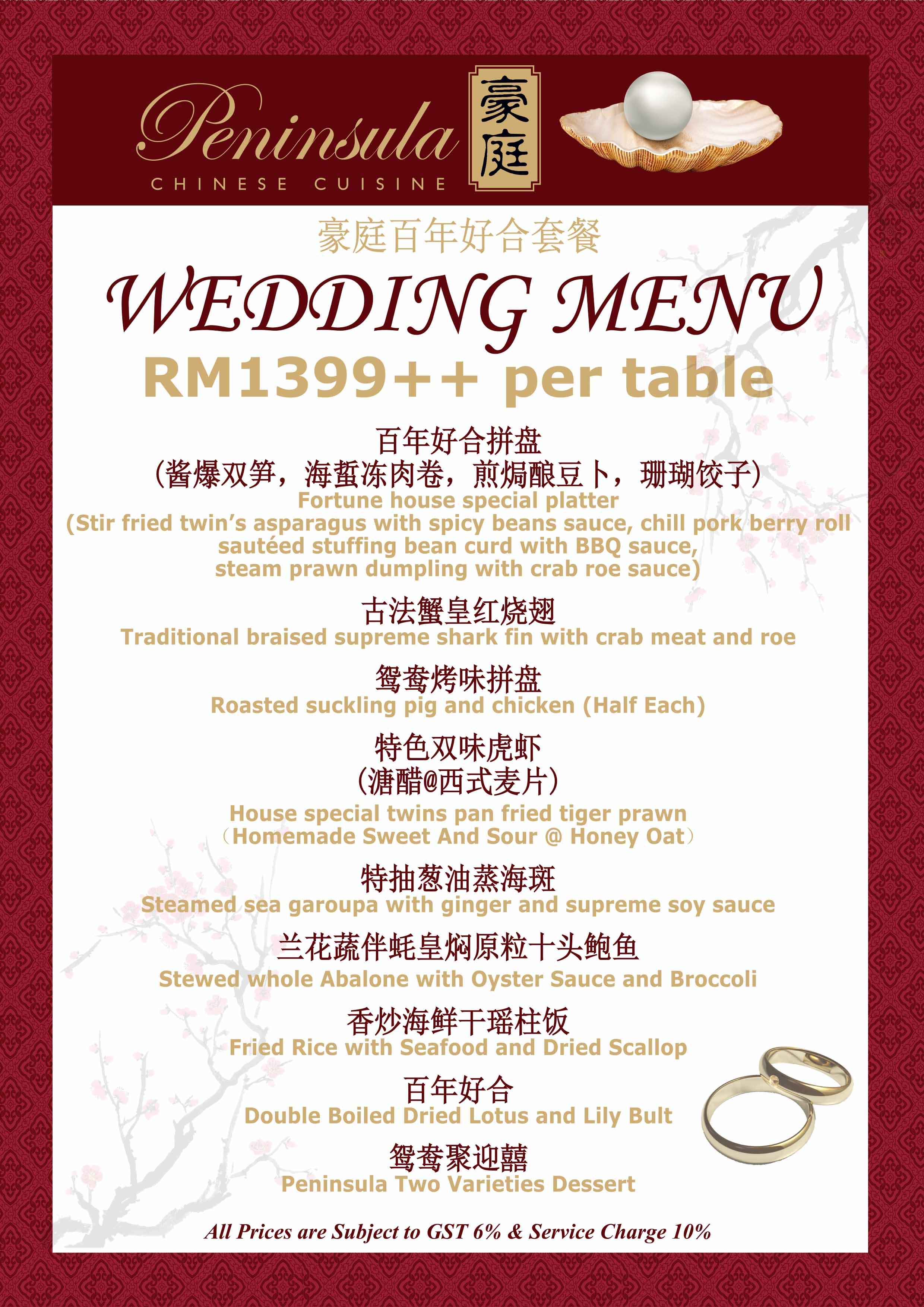 Rm 1399 Per Table